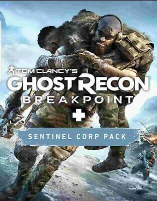 Sealed Tom Clancy's Ghost Recon Breakpoint (PS4, 2019)w/ Sentinel Corp Pack Code