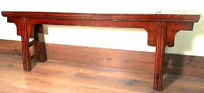 Antique Chinese Ming Bench (5660), Cypress Wood, Circa 1800-1849