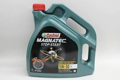 CASTROL Magnatec Stop Star Full Synthetic Car Engine Oil 4W-30 C2 4L NEW