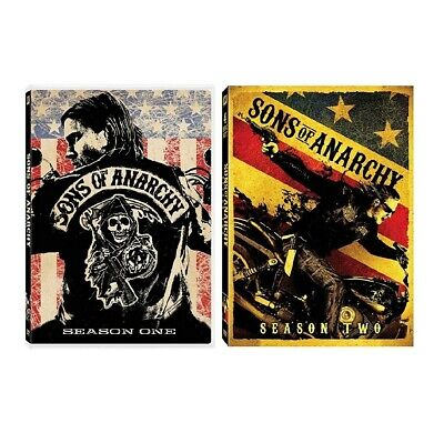 NEW Sons Of Anarchy Complete Seasons: One & Two Series FX DVD Lot 1 2