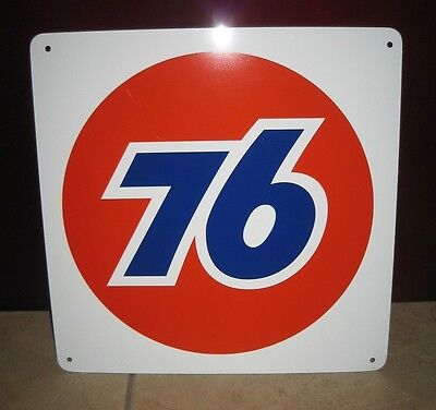UNION 76 Metal Gas Pump SIGN Service Station Unicol Mechanic Garage Advertising