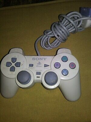 Official Sony Playstation 1 PS1 Controller Genuine OEM Gray