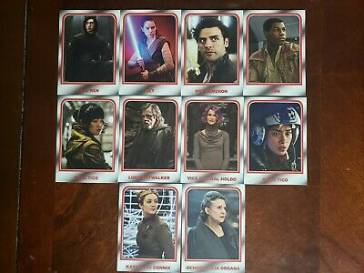 Topps Star Wars Journey To The Rise Of Skywalker  Choose Your Destiny Insert Set