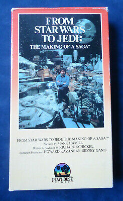 From Star Wars To Jedi: The Making Of A Saga Vhs Playhouse Video Mark Hamill