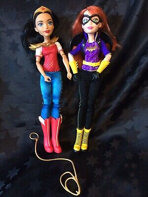 "DC Comics 12"" Super Hero Girls Batgirl & Wonder Woman"