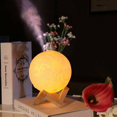 Ultrasonic Electric LED Aroma Aromatherapy Diffuser Oil Essential Air Humidifier
