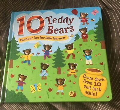10 Teddy Bears Book
