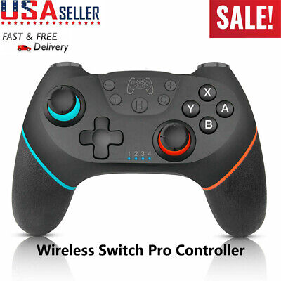 New Bluetooth Wireless Pro Controller Joypad Remote Gamepad For Nintendo Switch