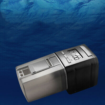 Digital Automatic Fish Food Feeder Pet Feeding Aquarium Pond Tank Auto Dispenser