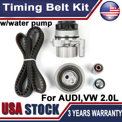 For Audi A3 A4 Quattro Volkswagen Jetta GTI Turbo Engine Timing Belt Kit TB334K1