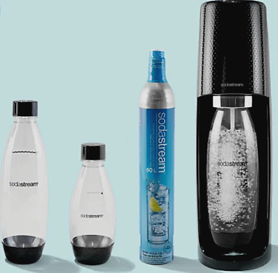 SodaStream Spirit Fizzy Soda Stream Sparkling Water Maker Machine Mega Pack