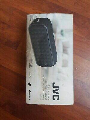 JVC SP-AD70-B Portable Bluetooth NFC Water Resistant Wireless Speaker Black