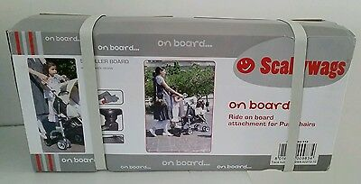 Scallywags On Board Buggy Skater Ride On For Pushchair Stroller Accessory New 👶