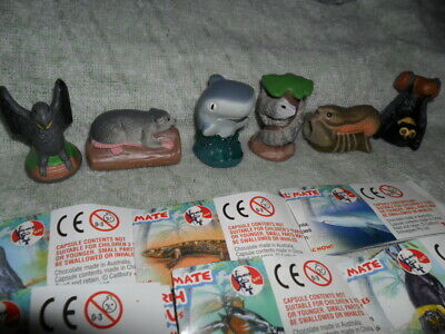 Yowies Kfc Series 2 Full Set Of 6 Limited Editions With Papers
