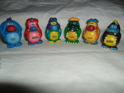 Yowies Series 1, Limited Edition Yowie Men / Full Set Of 6 With Papers