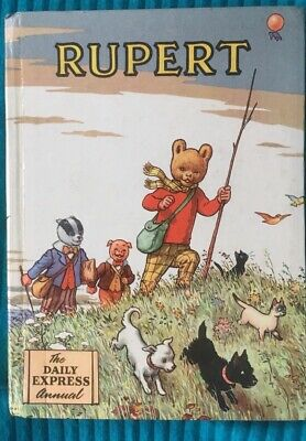 Miniature Rupert Bear Annual 1955