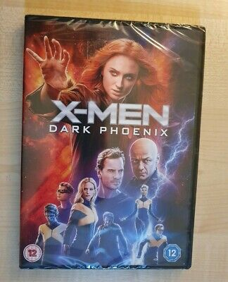 X-Men: Dark Phoenix - Genuine R2 DVD - New & Sealed - Free Fast Post!