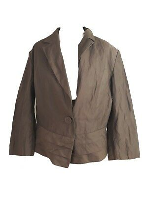 Gorgeous Size 14 Marks & Spencer Jacket Brown M&S women's
