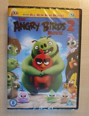 The Angry Birds Movie 2 - Genuine R2 DVD - New & Sealed - Free Fast Post!