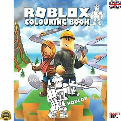 Roblox Colouring Book Perfect Gift for Kids Children Who Love Roblox Game NEW