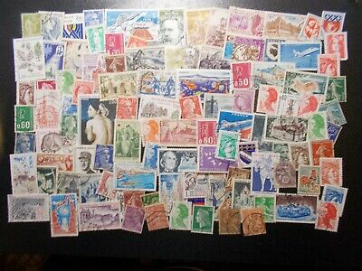 Quality Packet of 100 Different Used France Stamps~Collection~A~UK Seller
