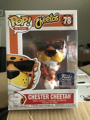 Funko Pop Ad Icons #78 Chester Cheetah Cheetos Funko Hollywood Exclusive