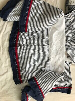 Pottery Barn Kids Bed Skirt And Two Sheets