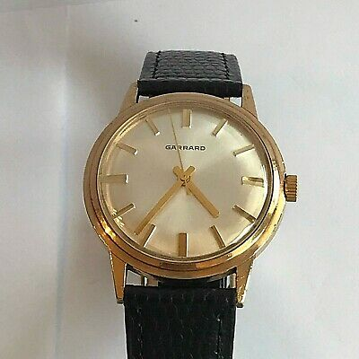 Vintage Accurist 9ct Gold Watch With Swiss Automatic Shockmaster Movement