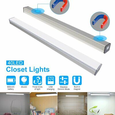 40 LED PIR Motion Sensor Closet Light Wireless Under Cabinet Drawer Night Light