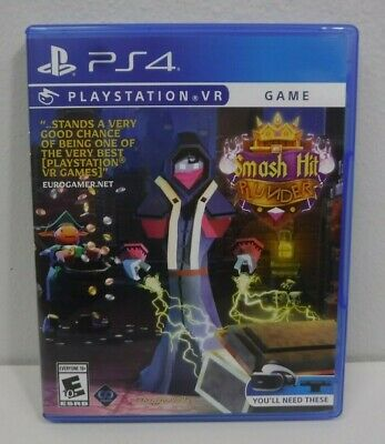 Smash Hit Plunder (PS4, Playstation VR Game) Free Shipping