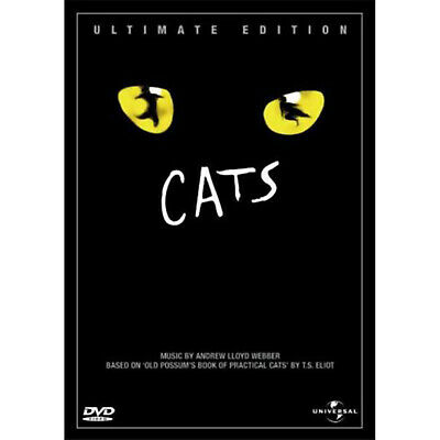 Cats Ultimate Edition DVD Drama Romance Musical Andrew Lloyd Webber NEW 2002