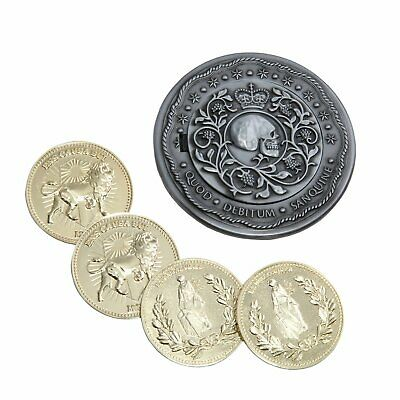 Chronicle Collectibles John Wick 2 1:1 Blood Oath Marker Set 4 Continental Coins