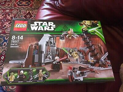 Lego Star Wars 75017 Factory sealed Duel In Geonosis with Count Dooku & Yoda
