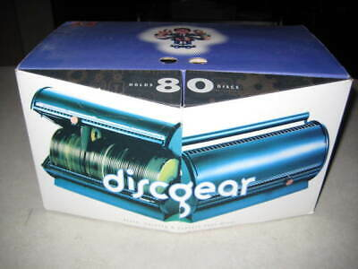 Discgear Disc Selector 80 Capacity CD/DVD/Blu-Ray Holder - NEW