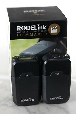 Rode Rodelink Filmmaker Kit Wireless Lavalier Microphone & Receiver System Black
