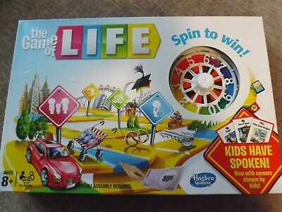Game Of Life Spin To Win Board Game Kids Have Spoken Version - New Sealed
