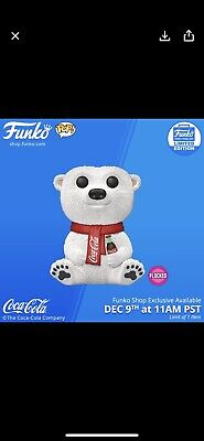 Funko Pop! Coca-Cola Polar Bear Vinyl Figure