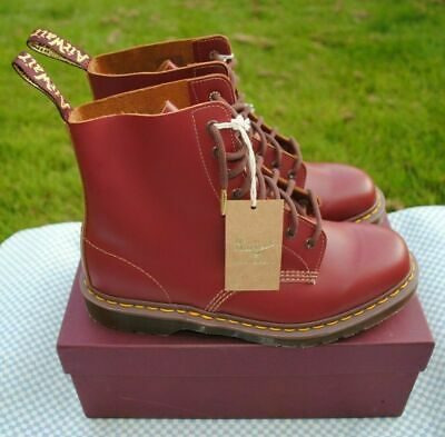 💥Brand New Dr Martens Oxblood Boots UK 10 Made in England 1460💥