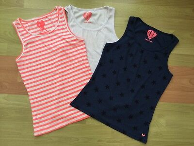 ATTRACTIVE GIRLS VESTS PACK OF 3 - age 14 NEXT 2 new 1 used