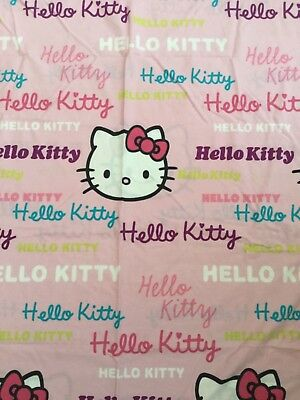 Girls Single Bed Duvet Cover Hello Kitty Without Pillowcase Used Good Condition
