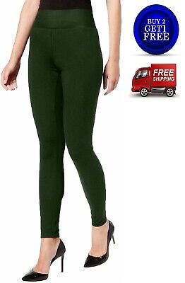INC International Concepts Shaping Leggings Hunter Green Size Small $34.99 - NWT