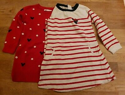 BABY GAP DISNEY GIRLS AGE 3 DRESSES x2.  MINNIE MOUSE