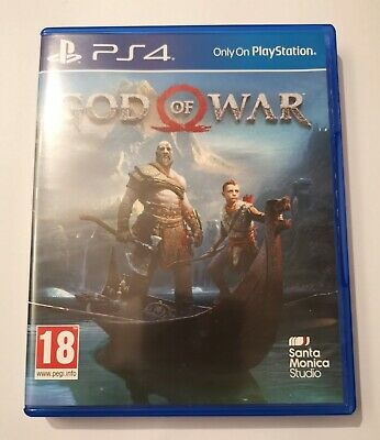 God Of War PS4  *Mint Condition*