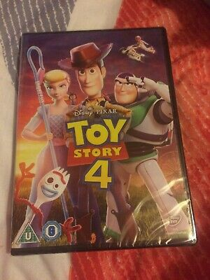 Toy Story 4 DVD Unwanted Gift New Sealed