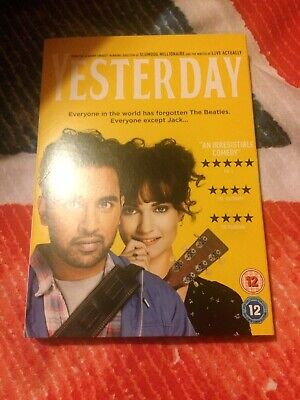 Yesterday DVD Unwanted Gift New Sealed