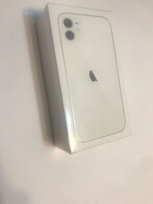 BRAND NEW/SEALED Apple iPhone 11 - 64 GB -  WHITE  FOR AT&T WIRELESS CLEAN ESN