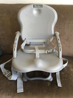 Silver Cross Excellent Large Travel Booster Seat Height Adjustable Carry Handle