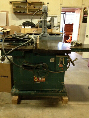 table saw, Oliver DU-88, used good condition
