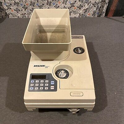 Magner 935 Medium Duty Coin Counter/Packager (used) Free Ship