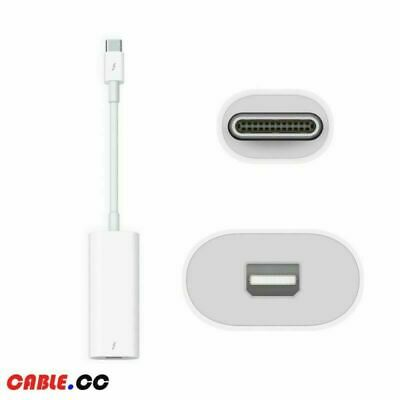 Cablecc Thunderbolt 3 Male to Thunderbolt 2 Adapter for 2016 2017 2018 Macbook